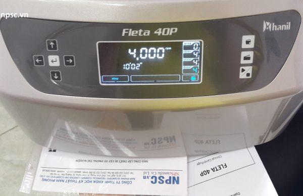 Bảng điều khiển máy ly tâm y tế Fleta 40P