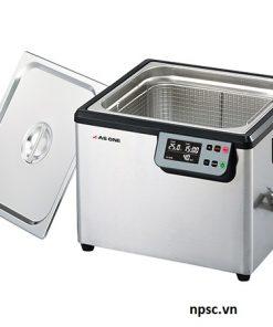 Bể rửa siêu âm có gia nhiệt model MCS As One - Nhật Bản