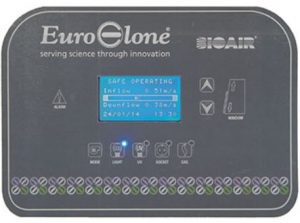 Bảng điều khiểnTủ an toàn sinh học cấp 2 EuroClone SafeMate 1.8