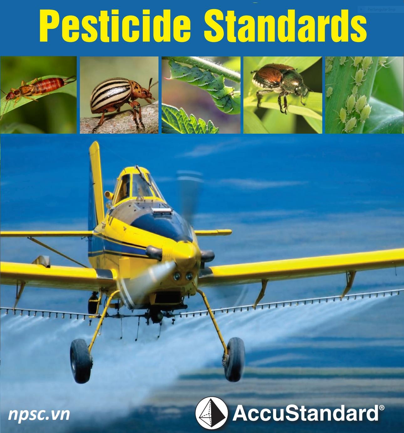 Chất chuẩn thuốc trừ sâu AccuStandard Mỹ
