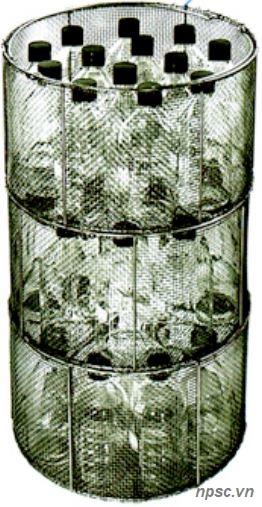 Giỏ đựng đồ hấp của nồi hấp tiệt trùng ALP model KT