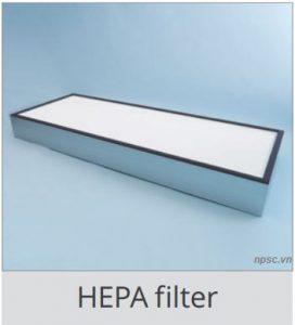 Màng lọc Hepa của tủ an toàn sinh học cấp 2 LKLAB 1.5m