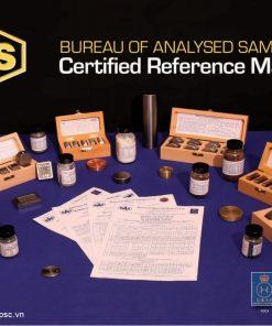 Mẫu chuẩn CRM thép và hợp kim BAS