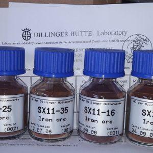 Mẫu chuẩn quặng sắt CRM Dillinger Hutte SX11
