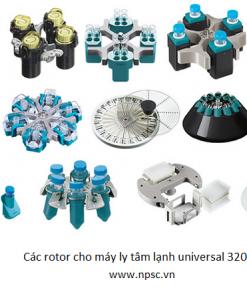 Rotor cho máy ly tâm lạnh Universal 320R - Hettich