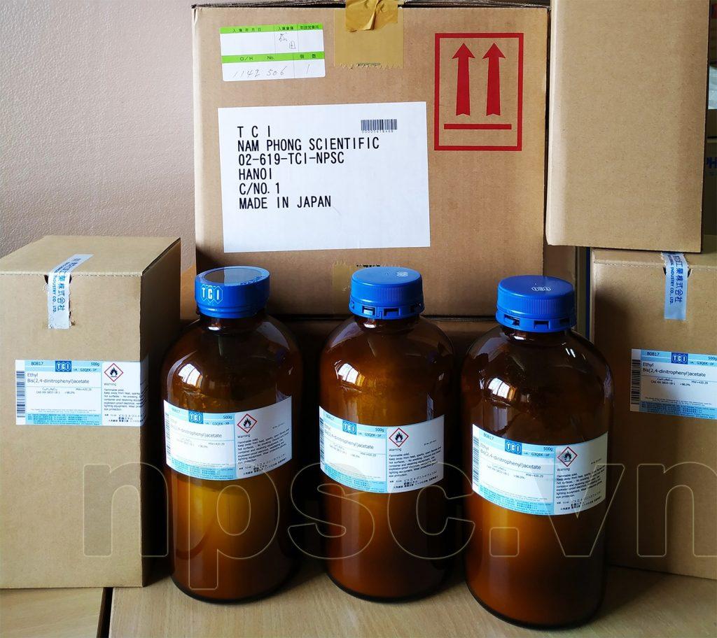 Hóa chất TCI cung cấp cho trung tâm sắc ký TP HCM