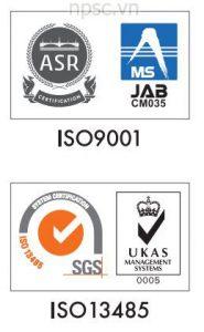 Tiêu chuẩn của nồi hấp tiệt trùng ALP CLM-40L, 105 lít tiêu chuẩn y tế