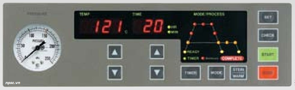 Bảng điều khiển nồi hấp tiệt trùng Tomy ES-215