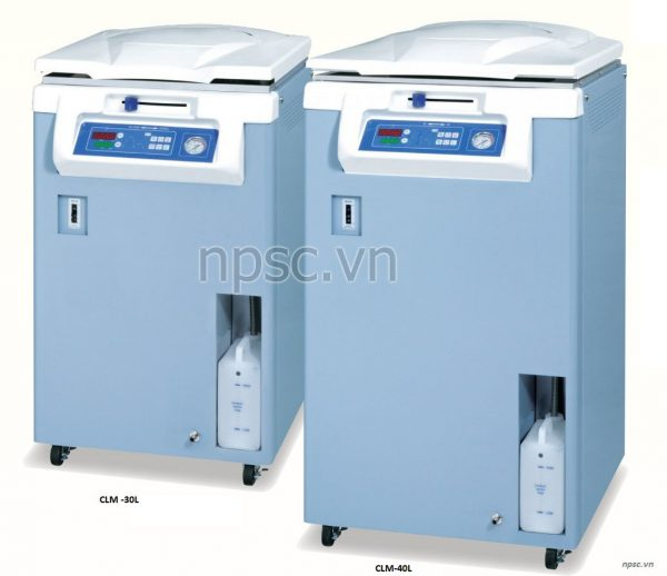 Các model nồi hấp tiệt trùng ALP CLM-40L, 105 lít tiêu chuẩn y tế