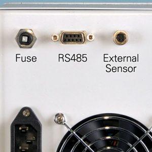 Cổng kết nối của bể điều nhiệt lạnh tuần hoàn -40oC Lklab