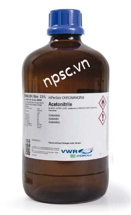Dung môi HPLC VWR Acetonitrile-20060.320