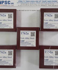 Mẫu chuẩn NIST SRM hợp kim thấp 1762A