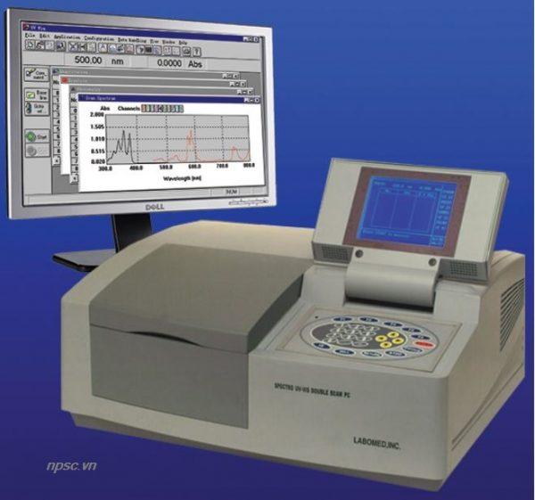 Máy quang phổ Labomed UVD-2950 hai chùm tia