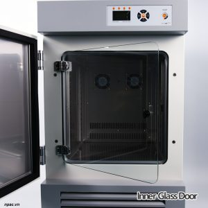 Lớp cửa kính trong tủ ấm BOD 60 lít Lklab model LI-IL060