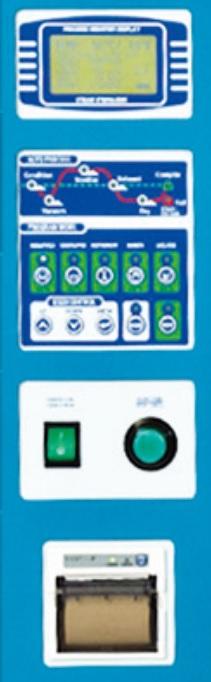 Bảng điều khiển nồi hấp tiệt trùng dụng cụ y tế 360 lít sấy chân không VSC-360L