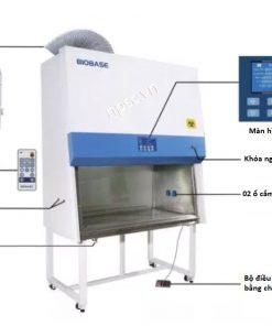 Cấu tạo tủ an toàn sinh học cấp 2 Biobase loại B2 1100mm Model BSC-1100IIB2-X