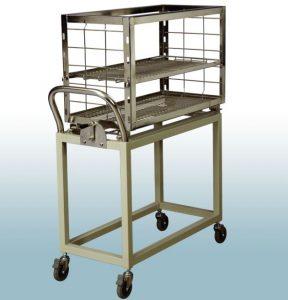 Xe đẩy nạp đồ (tùy chọn) nồi hấp tiệt trùng dụng cụ y tế 360 lít sấy chân không VSC-360L