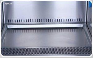 Cấu trúc bàn thao tác bằng inox của tủ an toàn sinh học cấp 2 Biobase loại B2 1500mm