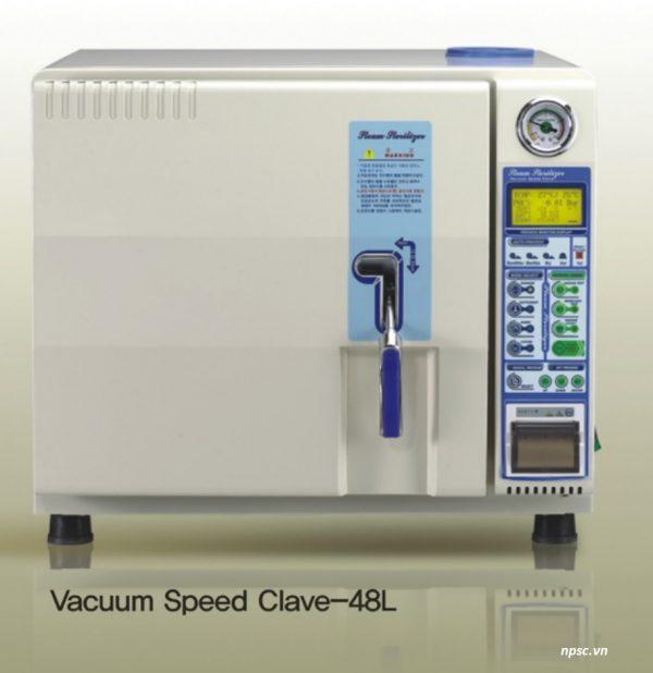 Nồi hấp tiệt trùng dụng cụ y tế class B 48 lít VSC-48L hút chân không nhanh