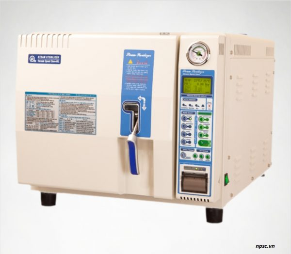 Nồi hấp tiệt trùng dụng cụ y tế class B 60 lít VSC-60L PERSONMEDI nhìn nghiêng