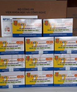 Kit kiểm tra nhanh dư lượng thuốc trừ sâu VPR10 Bộ Công An