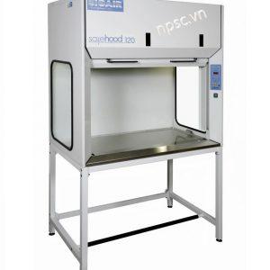 Mặt trước tủ hút khí độc không đường ống Bioair Safehood Series