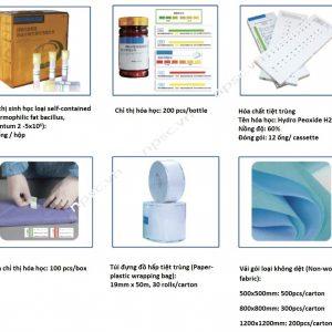 Phụ kiện cho máy tiệt khuẩn nhiệt độ thấp công nghệ Plasma 225L Biobase BKQ-PS200X