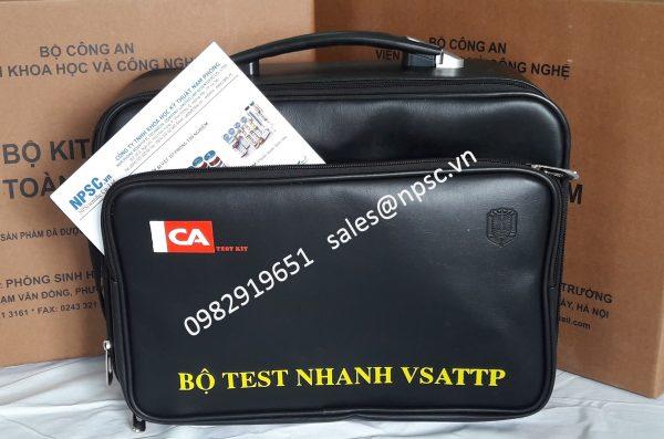 Vali Bộ TEST kiểm tra vệ sinh an toàn thực phẩm FT05 - Bộ Công An