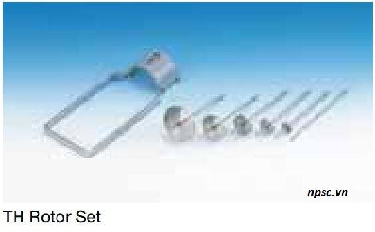 Các rotor TH của máy đo độ nhớt TOKI SANGYO TVB-10HW