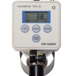 Mặt trên của máy đo độ nhớt cầm tay Toki Sangyo TVC-10