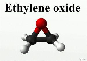 Công thức cấu tạo của Ethylene Oxide