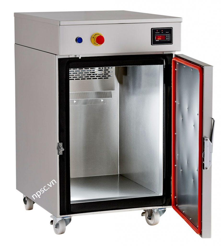 Bên trong máy tiệt trùng bằng khí ethylene oxide ZEOSS-160