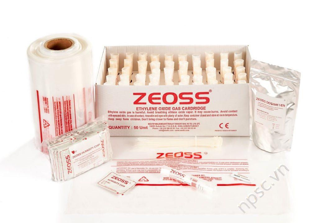 Bộ Kit tiêu hao cho máy tiệt trùng bằng khí ethylene oxide ZEOSS-80L 92 lít