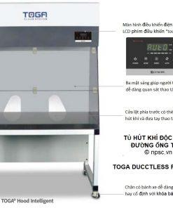 Các bộ phận tủ hút không đường ống TOGA-DFH900