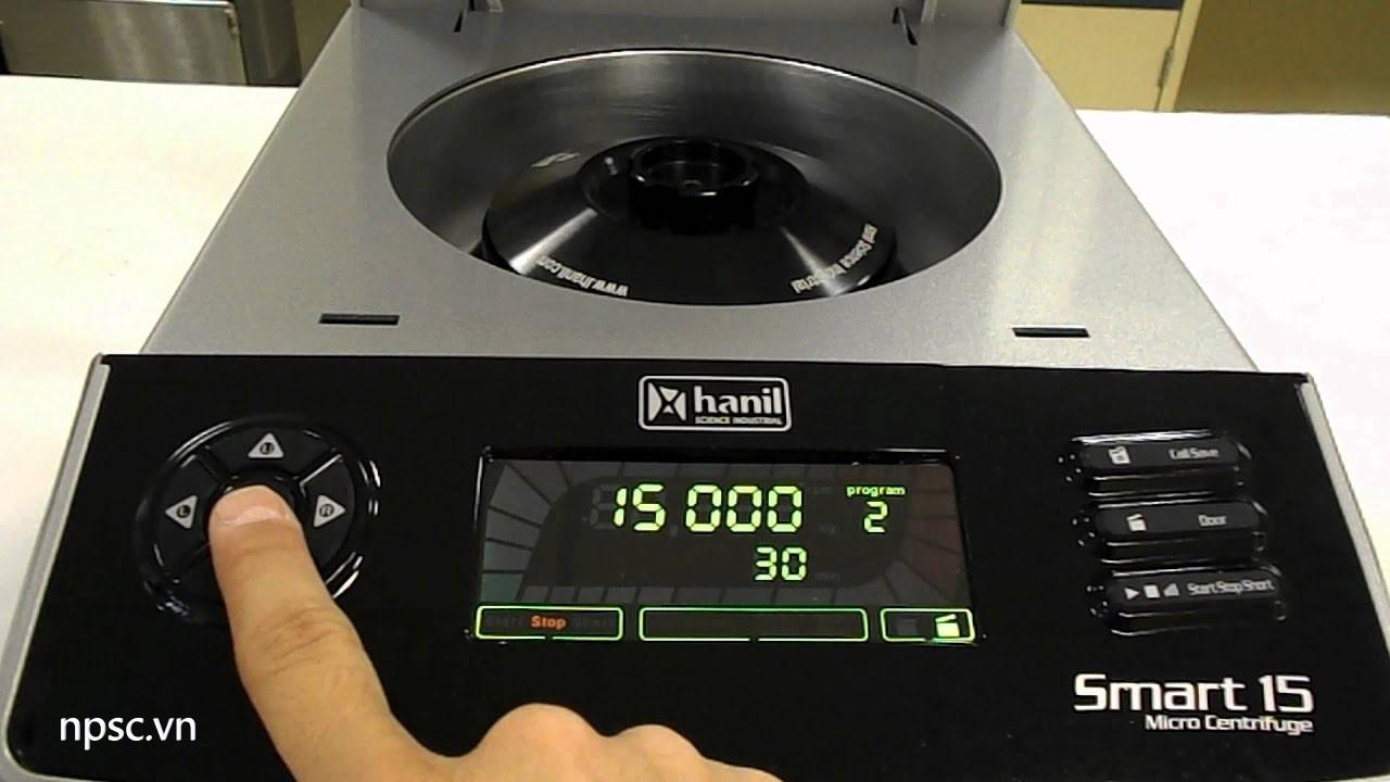 Bảng điều khiển máy ly tâm y tế Hanil Smart 15