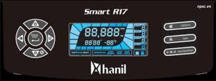 Bảng điền khiển máy ly tâm lạnh Hanil Smart R17 Plus - Smart R17
