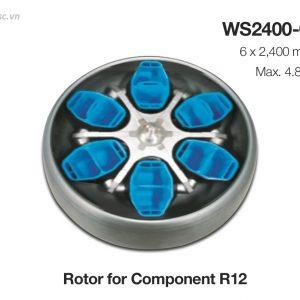 Roto cho máy ly tâm công suất lớn Hanil Component R12 / Component 12R
