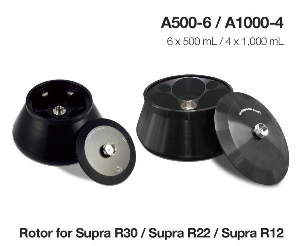 Roto-A500-6 và A1000-4 cho máy ly tâm tốc độ cao Hanil Supra R12