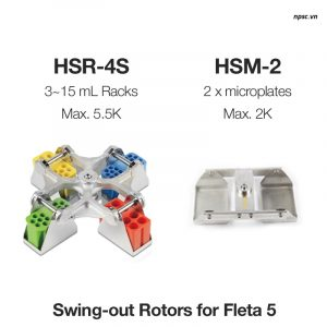Rotor cho máy ly tâm y tế Fleta 5 - Fleta 50P