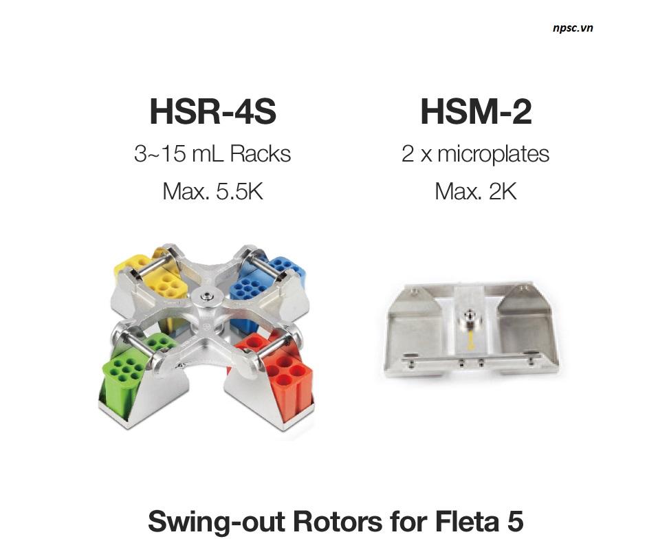 Rotor cho máy ly tâm Hanil Fleta 5
