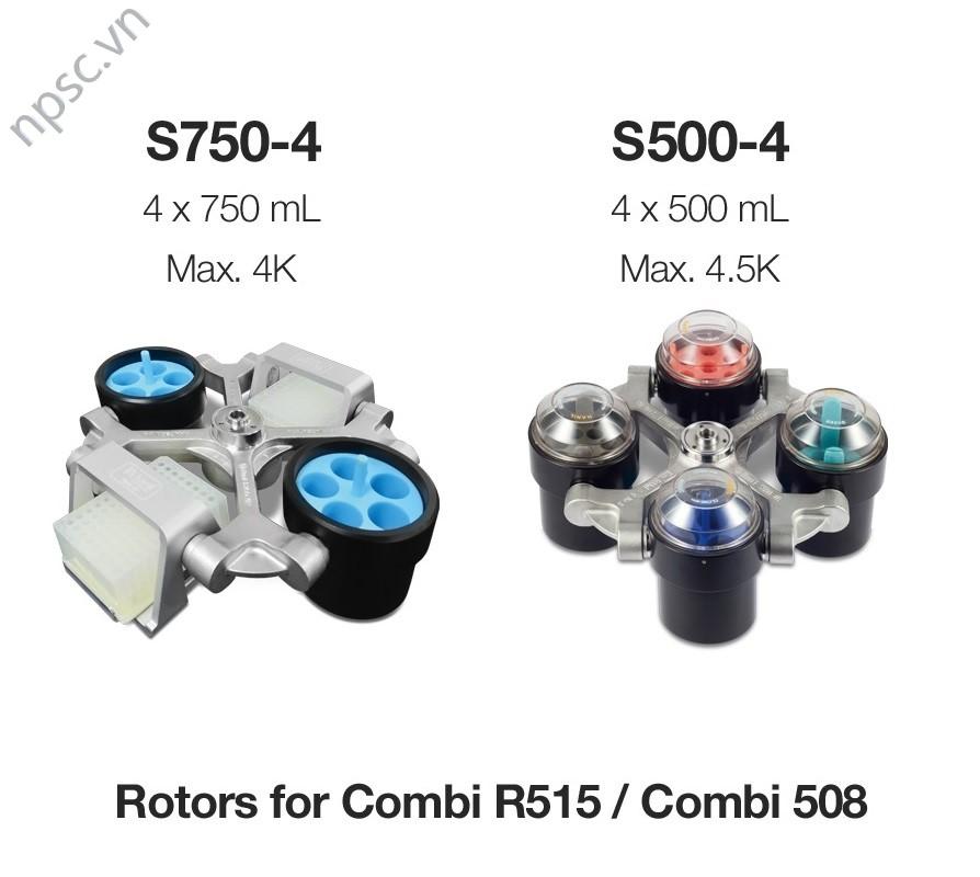 Rotor văng cho máy ly tâm lạnh đa năng công suất lớn Combi R515 - Combi 514R