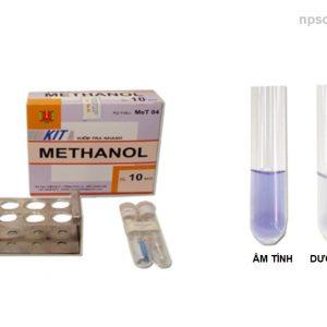 Kit kiểm tra nhanh Metanol trong rượu MeT04