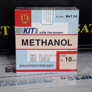 Kit kiểm tra nhanh Metanol trong rượu MeT04 Bộ Công An