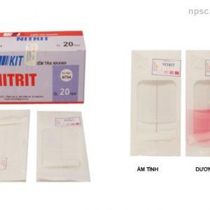 Kit kiểm tra nhanh Nitrit NT04