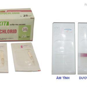 Kit kiểm tra nhanh hypochlorid HT04