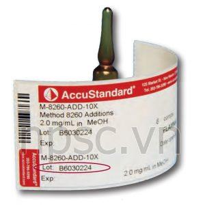 Dung dịch chuẩn thuốc trừ sâu Accustandard Mỹ (phần 1)