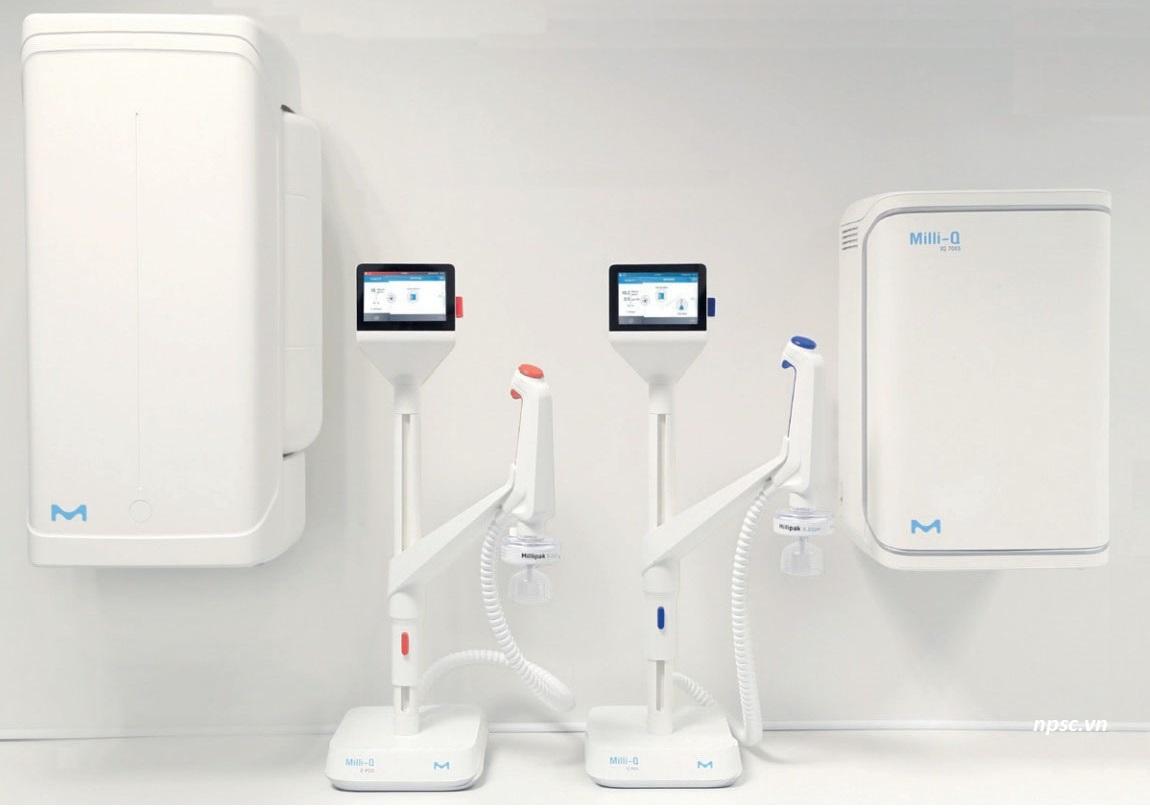 Máy lọc nước siêu sạch Milli-Q® IQ 7003/05/10/15 | NPSC.VN