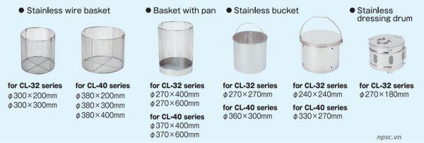 Giỏ hấp của nồi hấp tiệt trùng ALP CL-40SDP, 60 lít có sấy khô