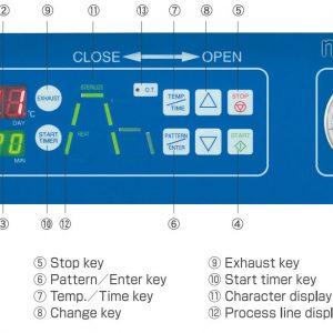 Bảng điều khiển nồi hấp tiệt trùng ALP CLM-40M, 85 lít tiêu chuẩn y tế