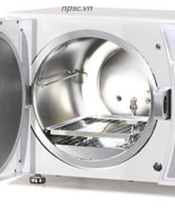 Bên trong nồi hấp dụng cụ y tế chân không 50 lít HTA-50V
